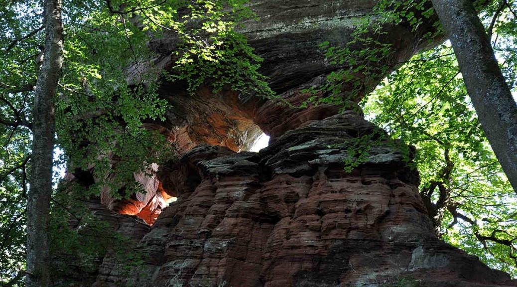 Eppenbrunner Altschlossfelsen
