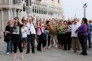 Menschen in Venedig